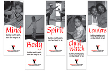 South City YMCA Banners